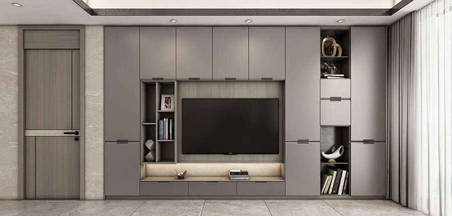Entry Luxury Style Cabinet