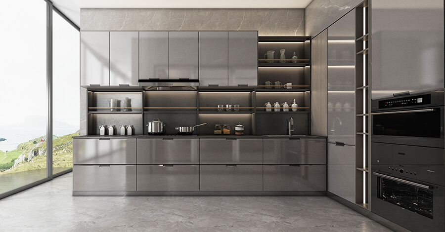 Entry Luxury Style Kitchen