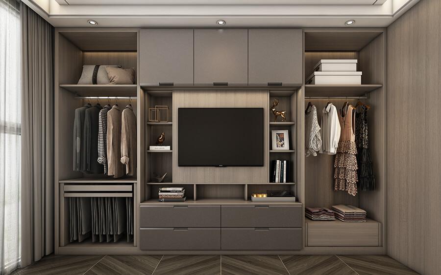 Entry Luxury Style Wardrobe